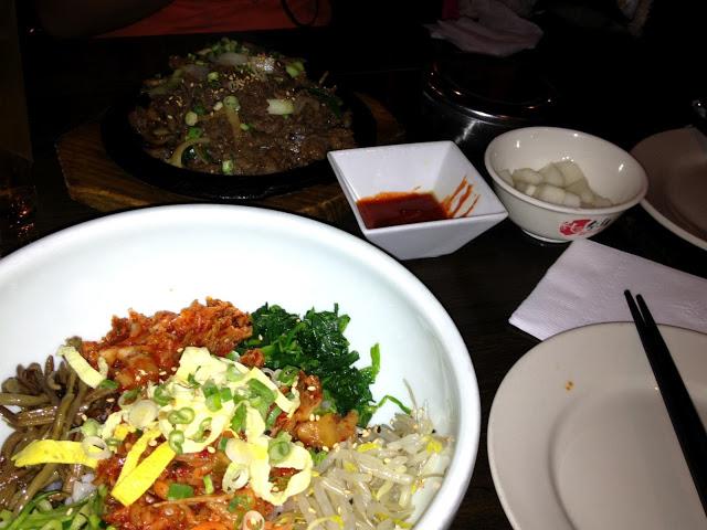 Kim Chi Bi Bim Bob and Beef Bul Go Gi