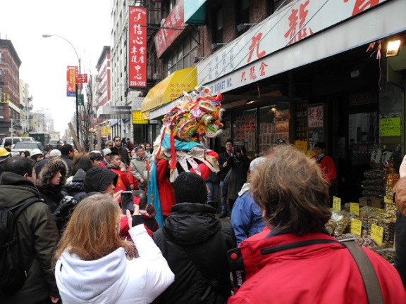 Dancing Dragon, Chinese New Year's 2012