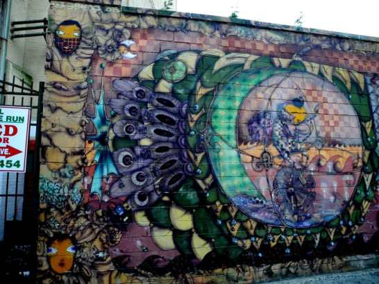 Wall Mural by Coney Island Train Station 9
