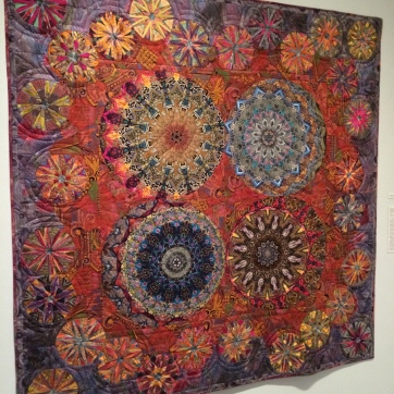 Paula Nadelstern, Bronx, New York. Kaleidoscopic XVI: More is More. 1996.