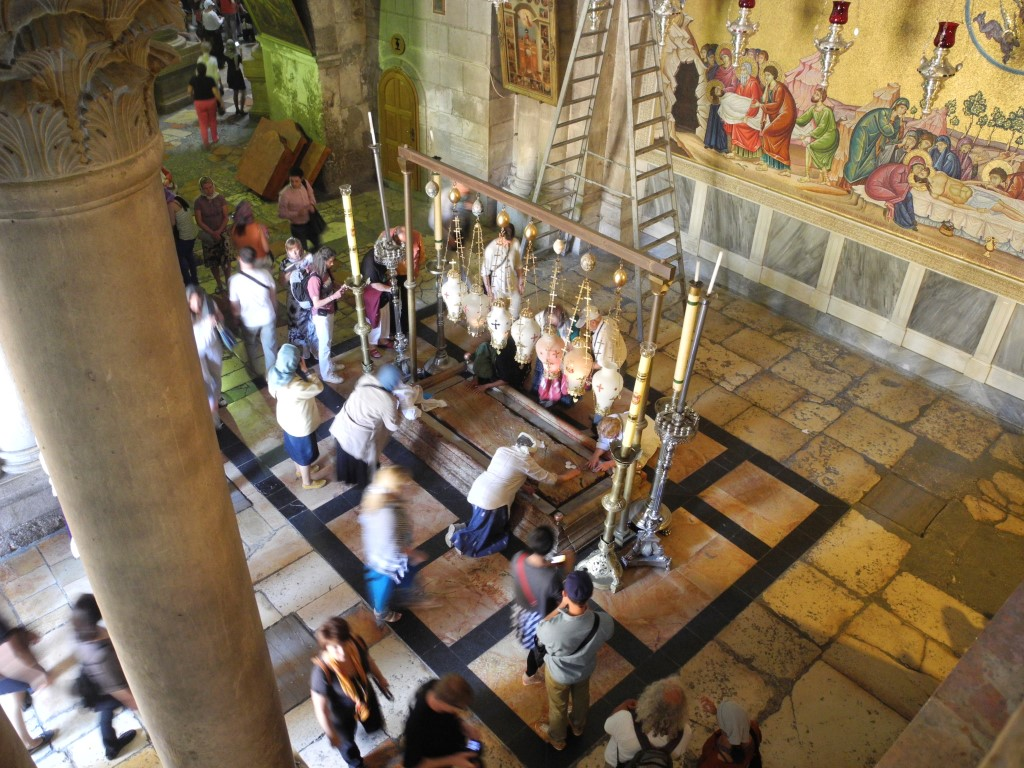 The Church of the Holy Sepulchre in Jerusalem (March 2014)