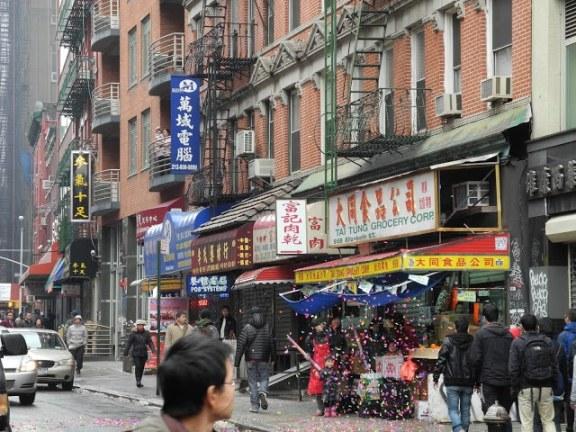 Chinese New Year's at Chinatown, New York City