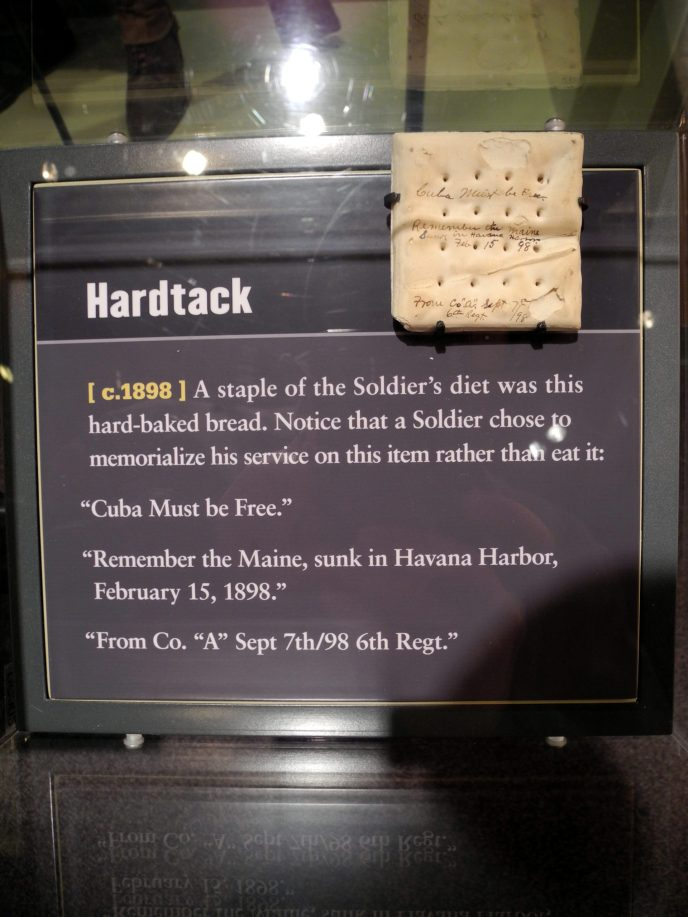 Rock hard biscuit.