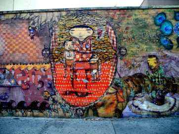 Wall Mural by Coney Island Train Station 5