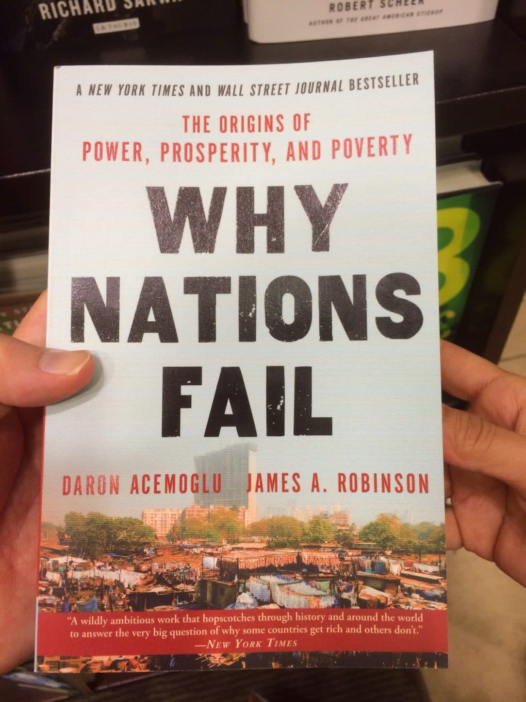 The Origins of Power, Prosperity and Poverty: Why Nations Fail