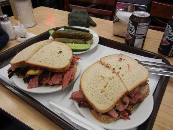 Katz's Delicatessen Pastrami Sandwiches