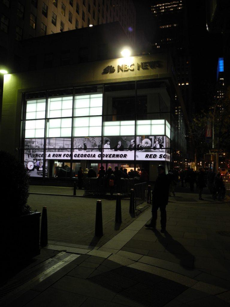 NBC News Studio by Rockefeller Center