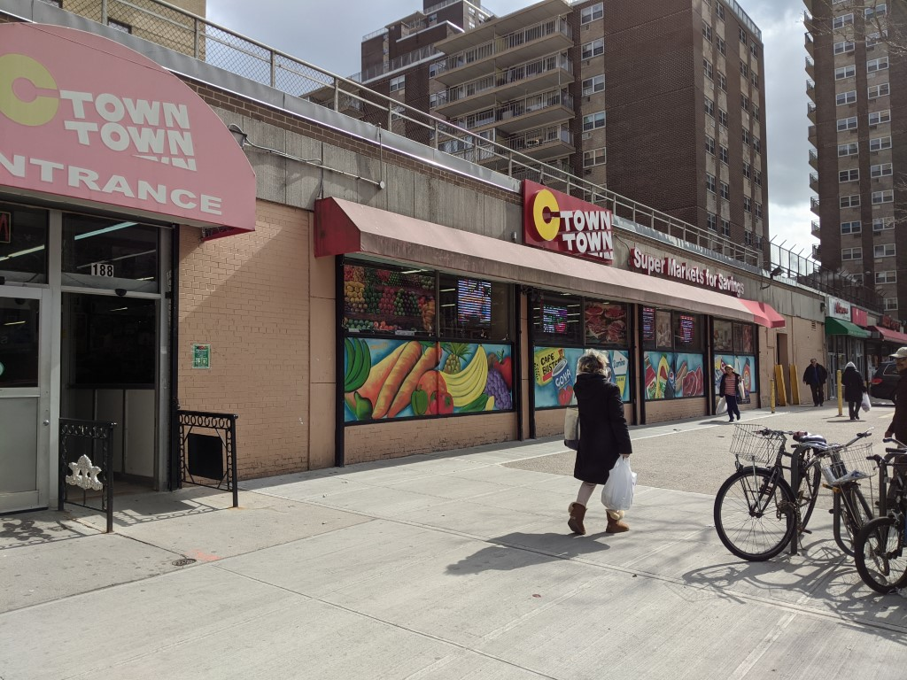 C-Town Storefront on Avenue C