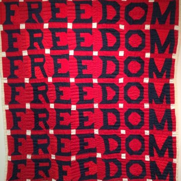 Jessie B. Telfair. Freedom Quilt. 1983.