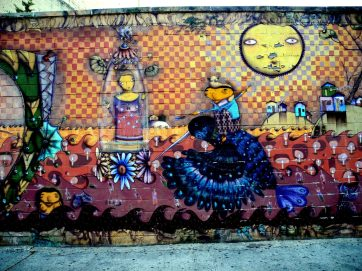 Wall Mural by Coney Island Train Station 7