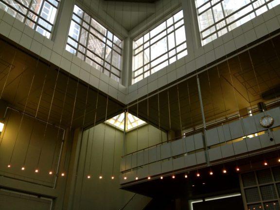 Interior of New York's Islamic Cultural Center