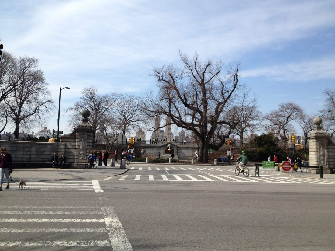 90th Street Entrance to Central Park