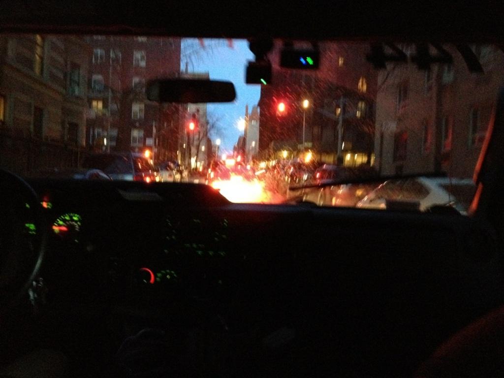 The van ride to JFK