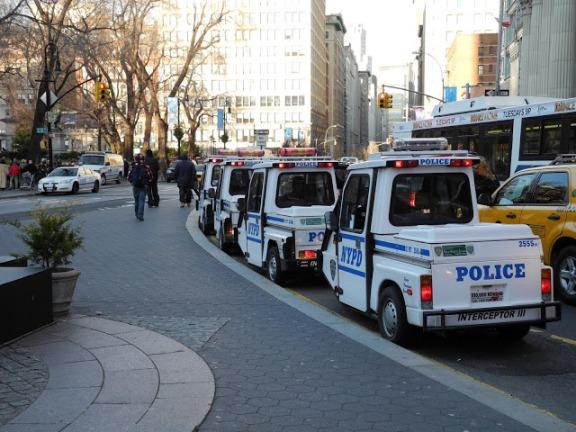 Mini police cruisers.