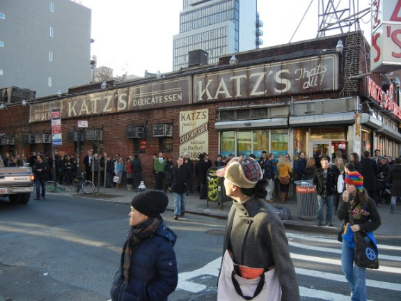 Katz's Delicatessen Facade