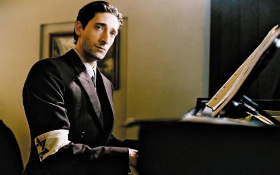 Adrien Brody as Wladyslaw Szpilman in The Pianist
