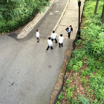 Jewish kids playing.
