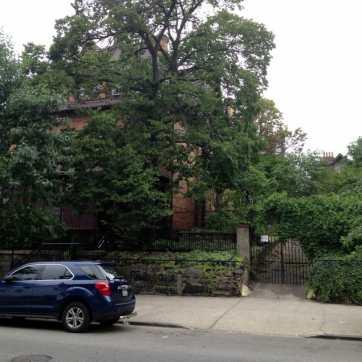 Edgecombe Avenue by Jackie Robinson Park