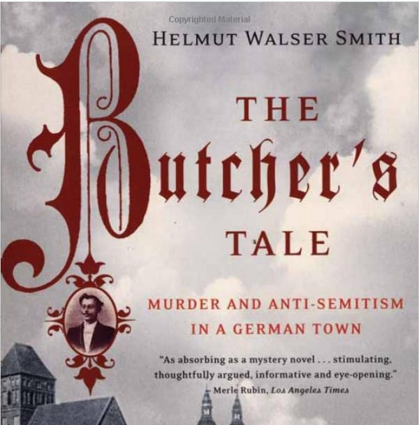 The Butcher's Tale: Murder and Anti-Semitism in a German Town Book Cover