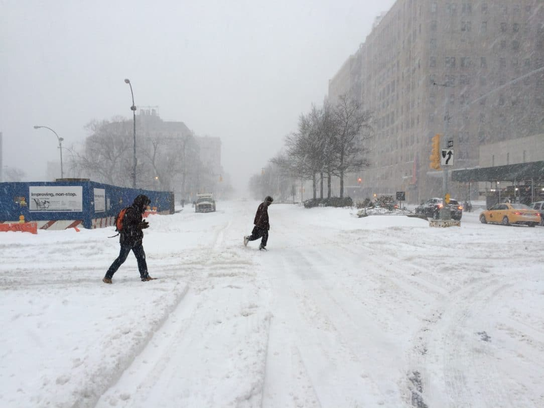 Facing South on Broadway at 168th Street