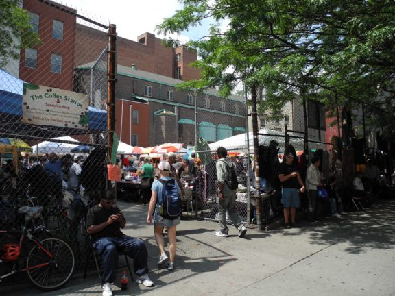 Flea Market at Ave A and 11th Street