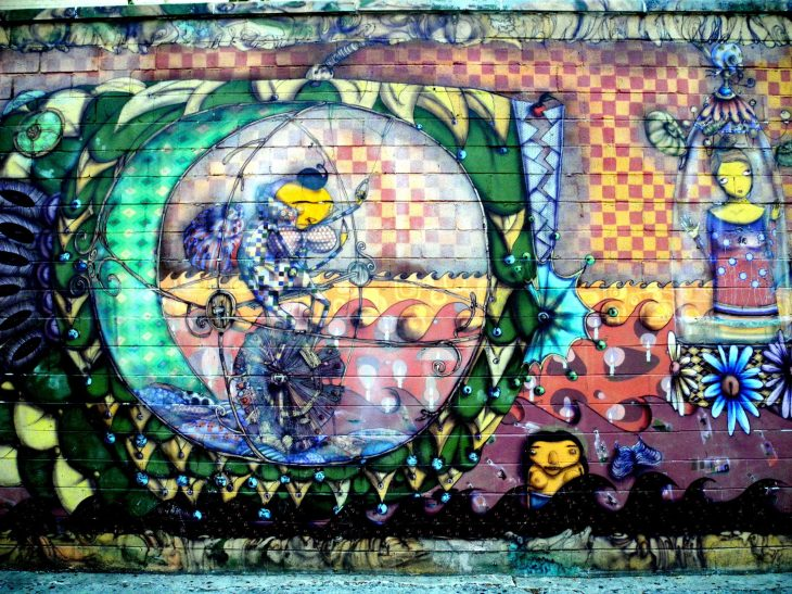 Wall Mural by Coney Island Train Station 8