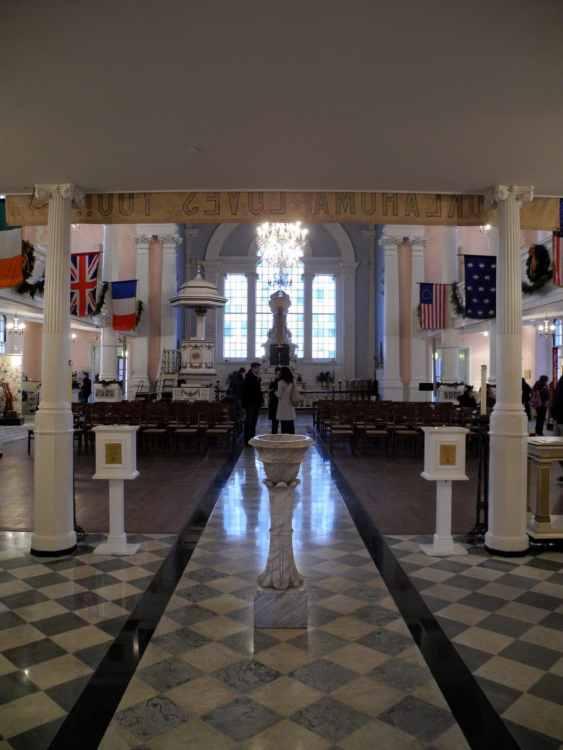 Sanctuary of St. Paul's Chapel