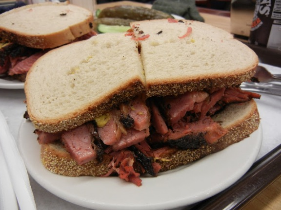 Katz's Delicatessen Pastrami Sandwich