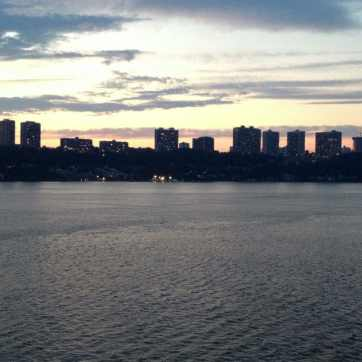 View of New Jersey from Riverside Drive
