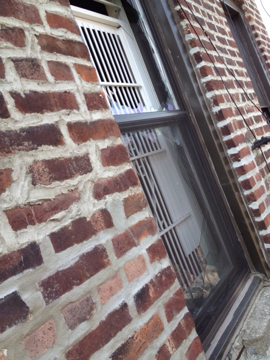 My neighbor's window.
