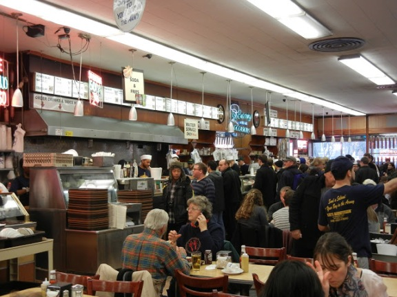 Katz's Delicatessen Interior