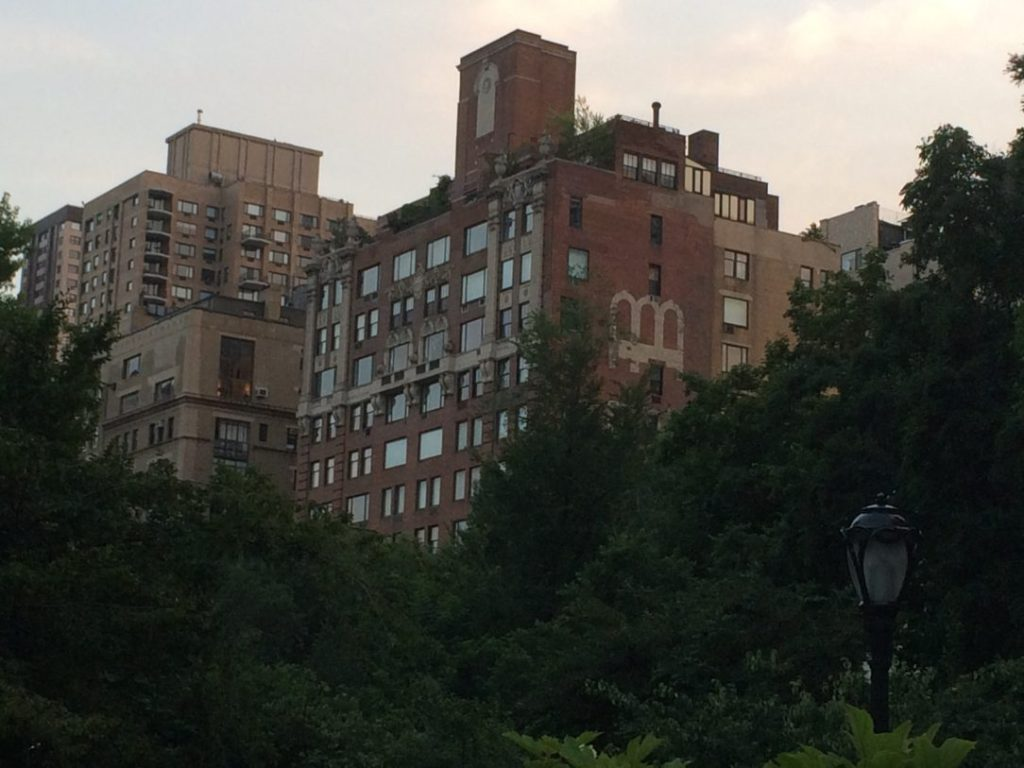 A neat looking building on the west side of Central Park, around 67th Street or so.