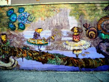 Wall Mural by Coney Island Train Station 4