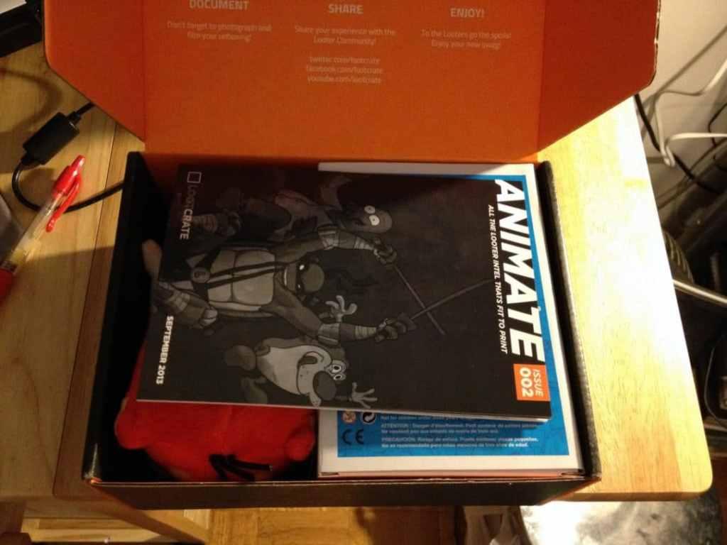 September 2013 Loot Crate