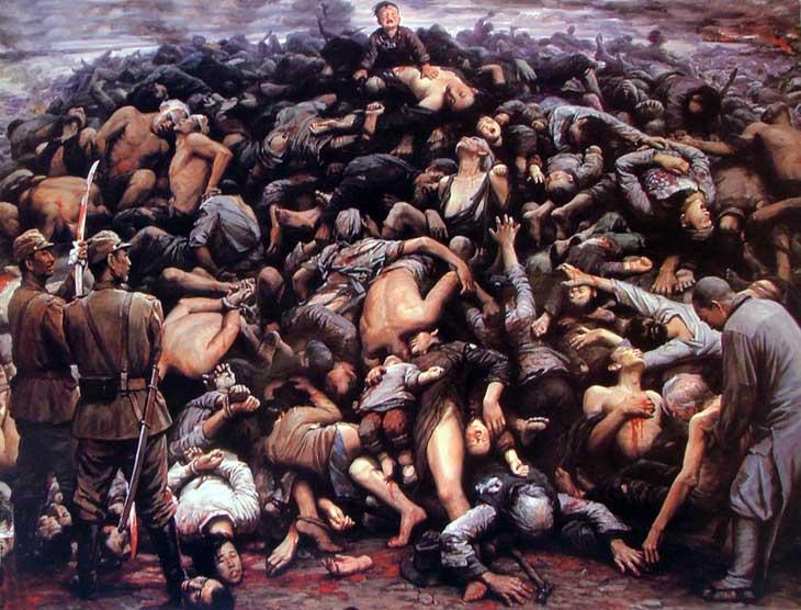 The Great Nanjing Massacre, Zi Jian Li, 1992