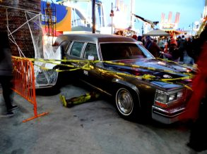 Car fatality at Luna Park Night of Horrors Entrance