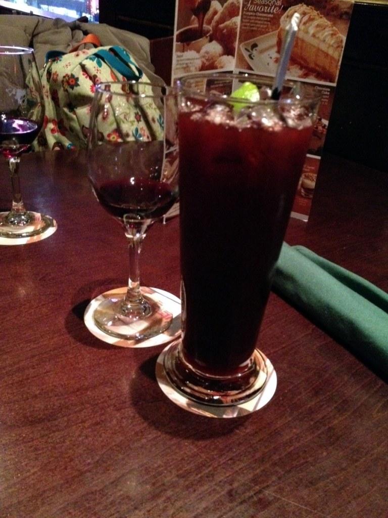 Blood Orange Blackberry Iced Tea