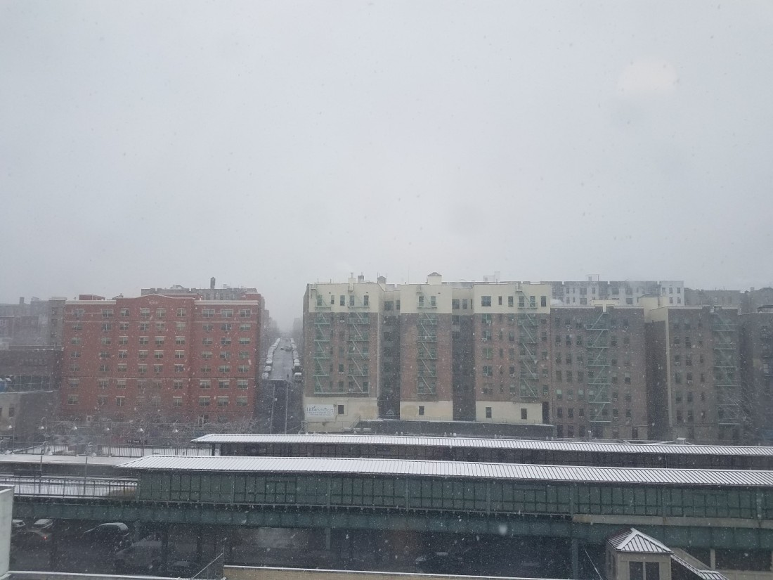 Snow in the West Bronx