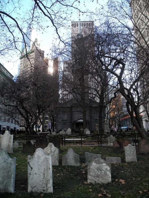 St. Paul's Chapel and Cemetary
