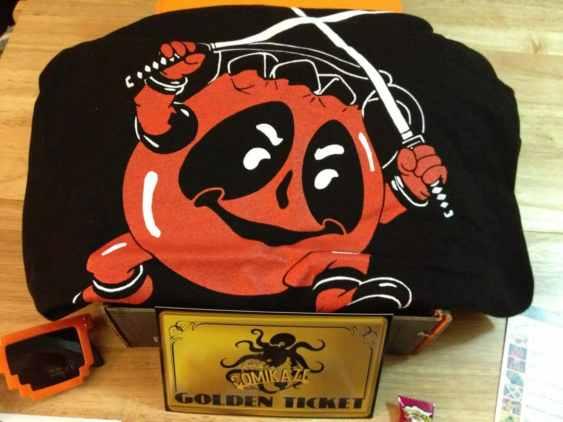 Dead Pool-Aid Man T-Shirt (Dead Pool + Kool Aid Man)