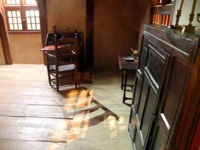 Inside a Schenck house