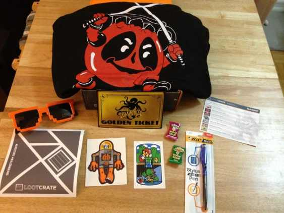 Loot Box June 2013 Contents Overview