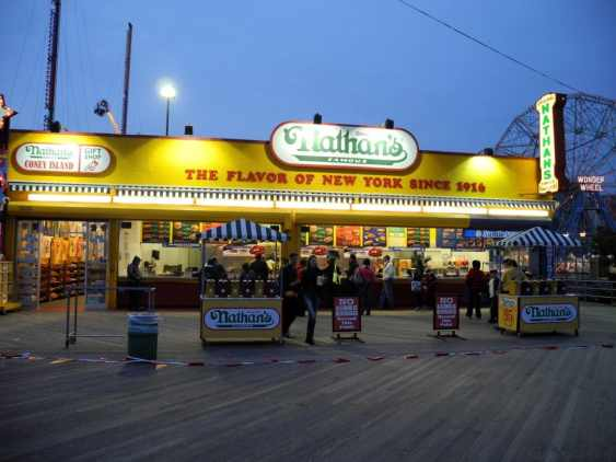 Nathan's on the Boardwalk