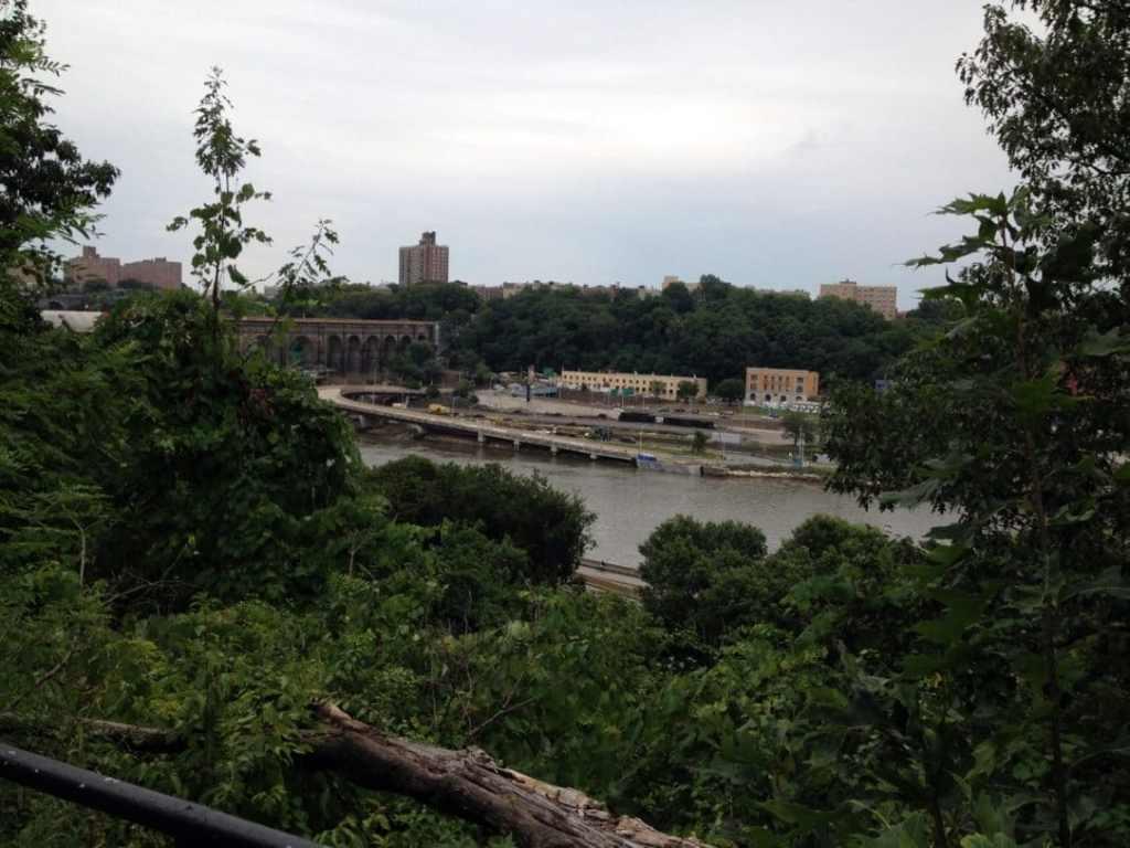 The High Bridge, as seen from the High Bridge path in High Bridge Park