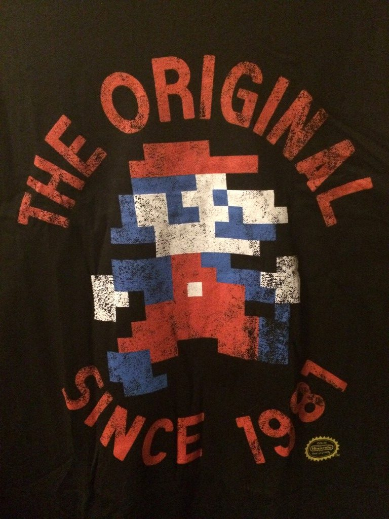 The Original Since 1981 Jumpman / Mario t-shirt