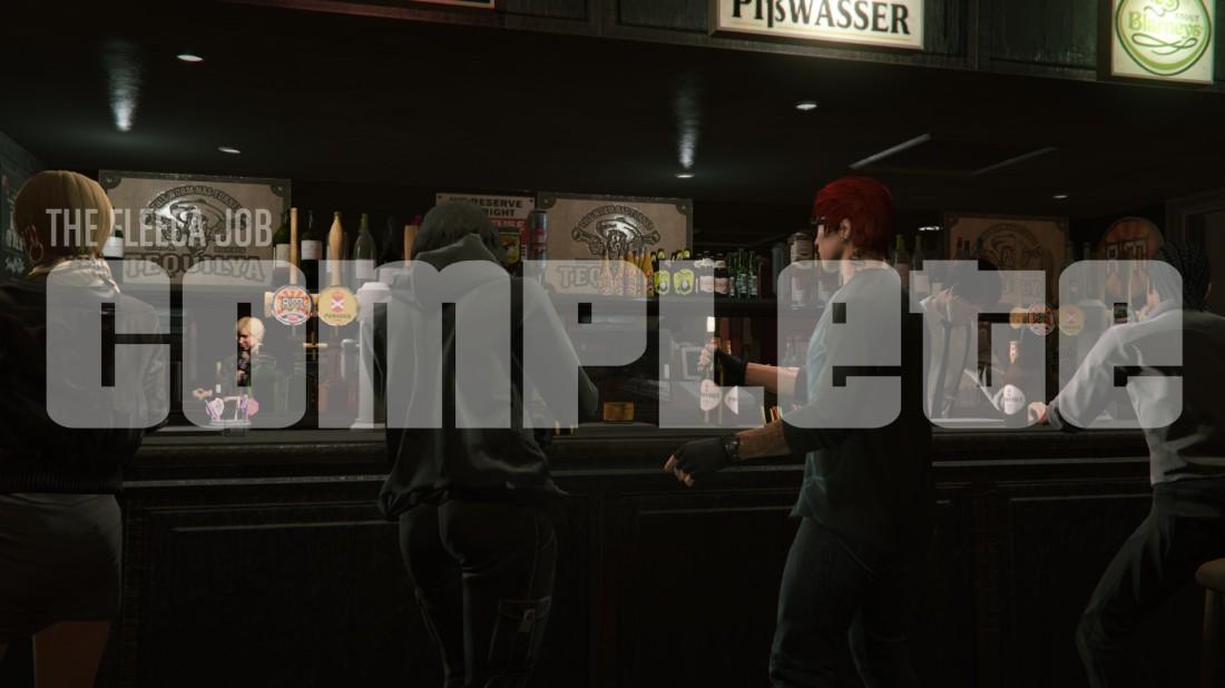 The Fleeca Job: Complete - After-heist party screenshot