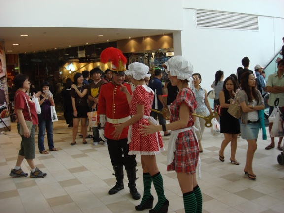 Toy Soldier and Toy Maids