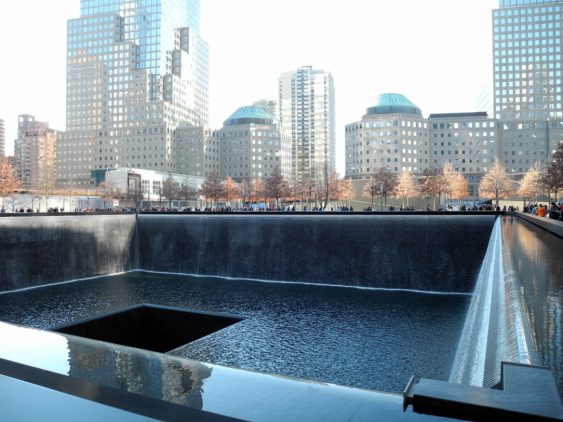 World Trade Center Memorial, South Reflecting Pool 1